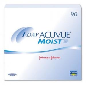купить линзы 1 day acuvue moist 90