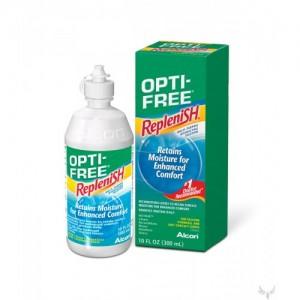 купить раствор Optifree replenish 300 мл