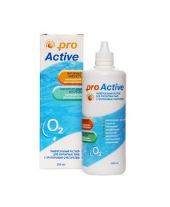 раствор для контактных линз proactive 125 мл купить