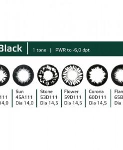 купить линз hera черные black